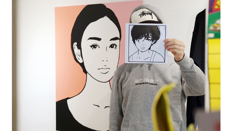 福岡出身のアーティストkyneキネのイラストが可愛すぎる